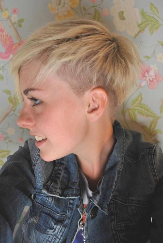 growing out a pixie undercut - Google Search