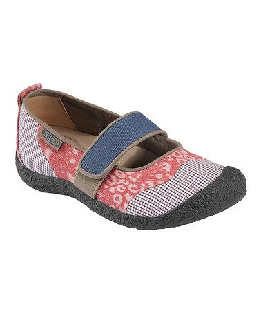 Hoping these KEEN brand shoes can hold up to my sensory seeking girl who tears up her shoe toes...Take a look at this Ensign Blue Harvest Mary Jane - Women by KEEN on #zulily today!