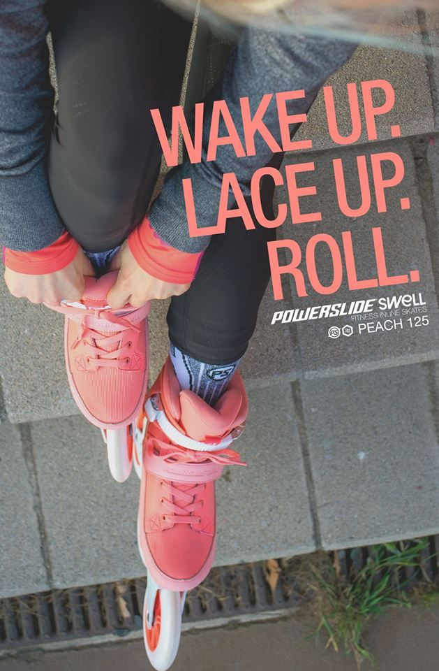Wake up. Lace up. Roll.  Powerslide Swell Fitness Inline Skates  www.powerslide.com www.swell.powerslide.com  #swellskates #powerslide #inlineskating #fitness #welovetoskate