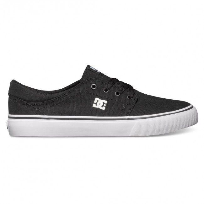 Trase TX Black/White shoes by DC.