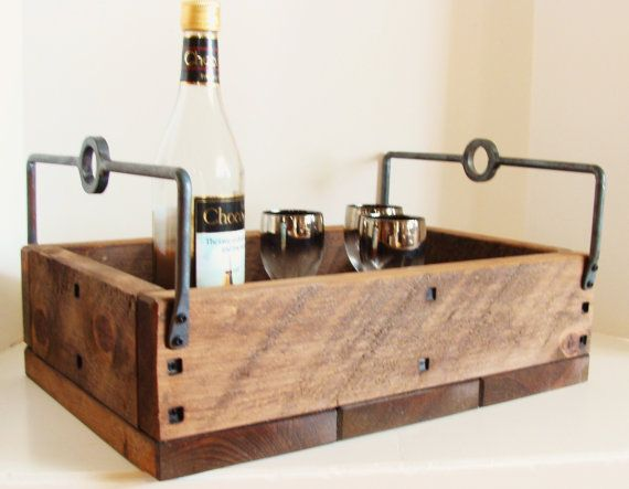 French industrial/rustic tray