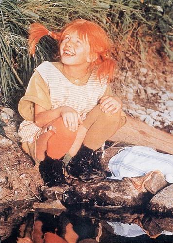 Pippi Longstocking! Love her!