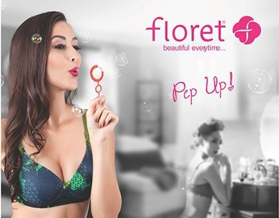 """Check out new work on my @Behance portfolio: """"Pep Up Range for Floret Lingerie"""" http://on.be.net/1LCEV8i"""