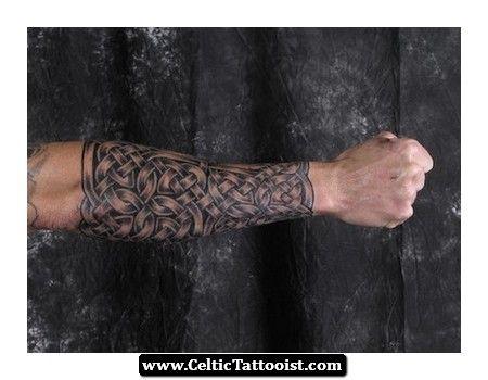 celtic forearm tattoos - Google Search