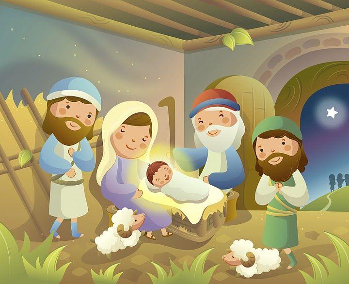 Diferentes imagenes en las que jesus es el protagonista, jesus al lado de los niños, jesus en el pesebre, jesus con los apostoles y más pued...