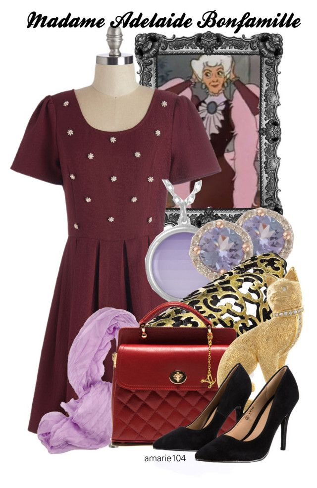 """Madame Adelaide Bonfamille"" by amarie104 ❤ liked on Polyvore featuring Bar III and Lipsy"