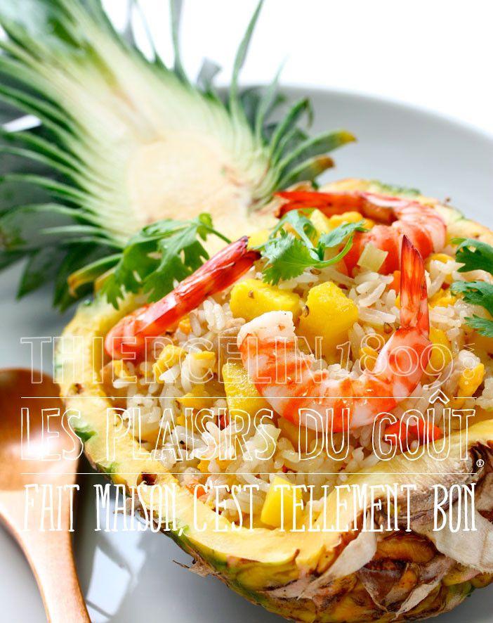 Riz Thaï à l'Ananas, Coco et Grillades TOKYOEAT