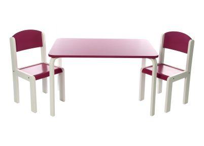 Tafelset 'Colour XL' in 5 kleuren   Set Fabio XL   Tafeltjes en stoelen