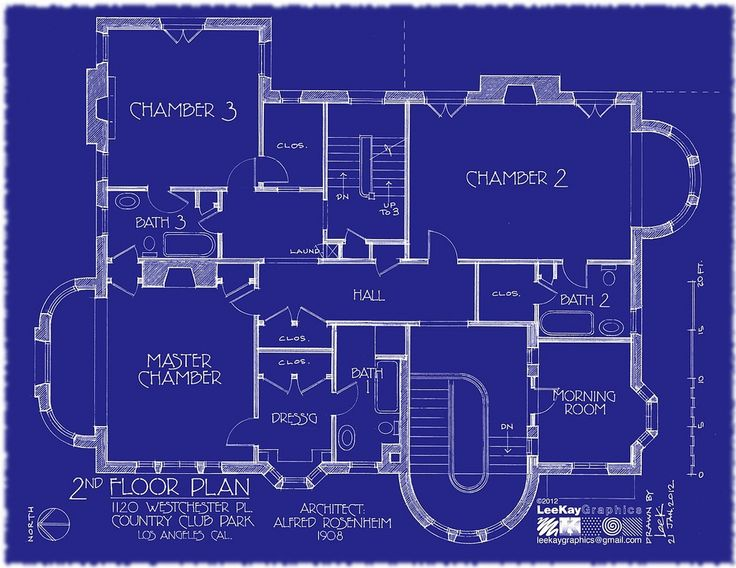 https://flic.kr/p/bh911K | 1120 Westchester Pl - 2nd Floor Plan | This is final revised plan! Special thanks to hookedonhouses.net/2011/10/31/the-real-american-horror-st...