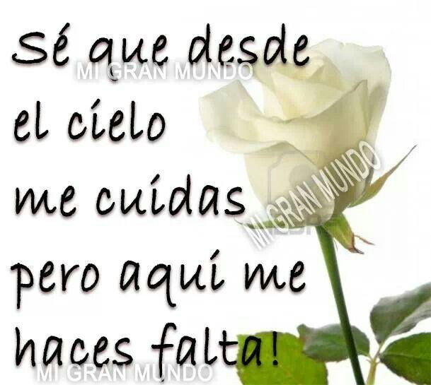ME HACES MUCHA FALTA!♥   mensajes de condolencias   Pinterest