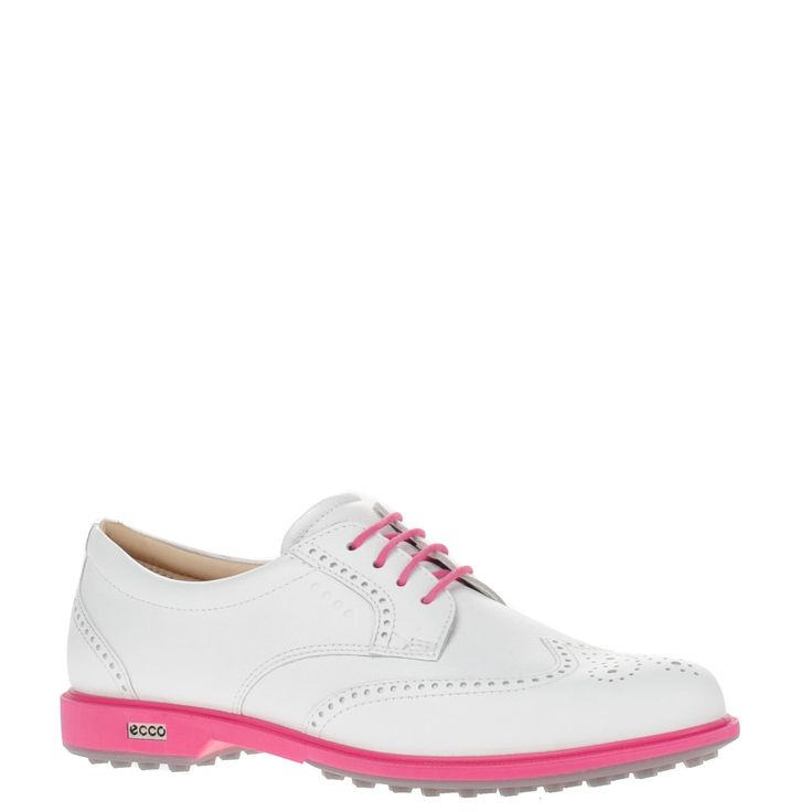 Ecco dames golfschoenen roze   Nelson Schoenen online