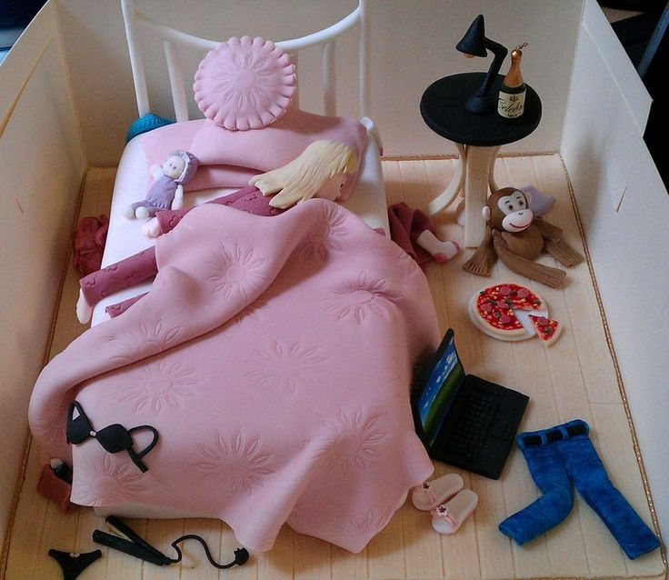 17 Best Images About Bedroom Cakes On Pinterest
