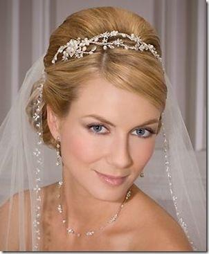 Wedding Hairstyles For Short Hair Veil