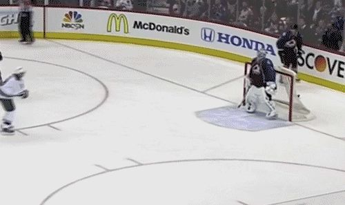 "Semyon Varlamov ""You shall not pass"" impression of Gandalf"