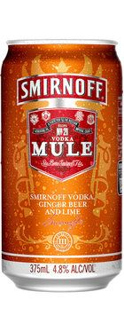 Smirnoff Mule Cans