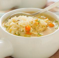 Ingredienti: 30 grammi circa di riso una carota, un pezzetto di sedano, mezza cipolla, 1 zucchina un petto di pollo di circa 40 grammi olio e parmigiano Puliamo le verdure e prepariamo il brodo con...