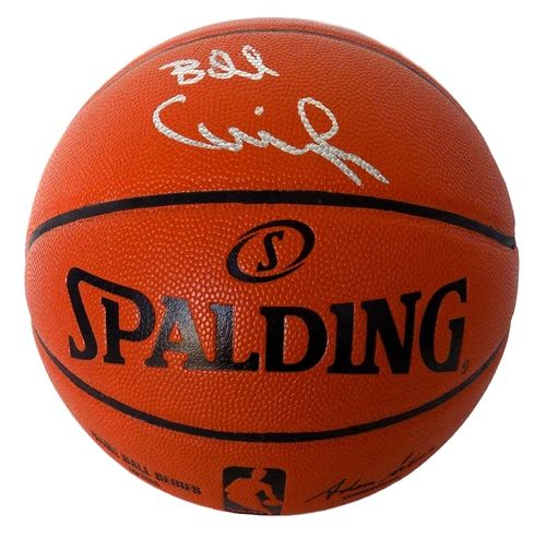 BILLY CUNNINGHAM PHILADELPHIA 76ERS SIGNED SPALDING BASKETBALL JSA
