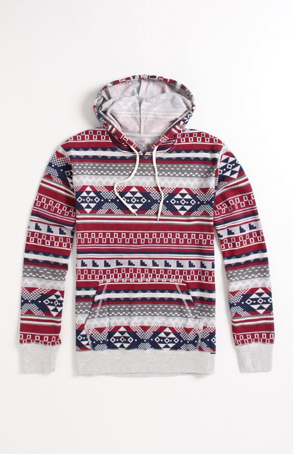On The Byas Hexicomb Pullover Hoodie at PacSun.com