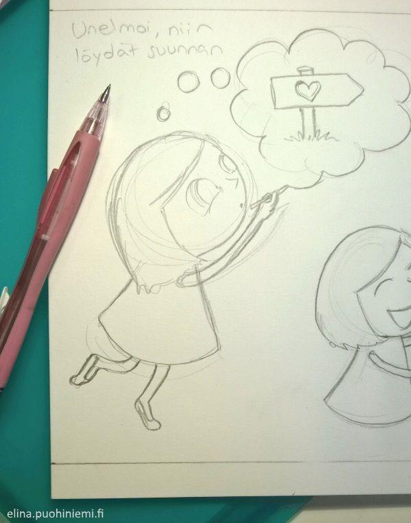 Mira(cle)doodles Meidän Suomi -lehdessä
