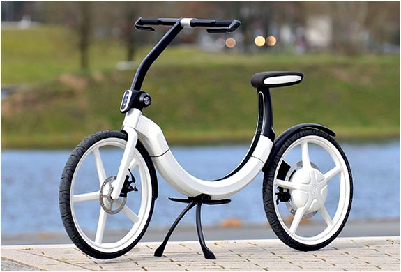 Volkswagen folding electric bike