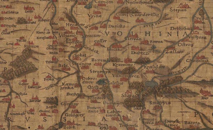Stara Mapa - Wołyń