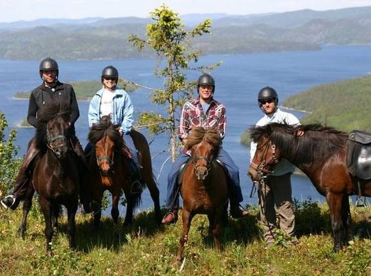 Turridning i Höga Kusten / Horseback Riding in the High Coast of Sweden