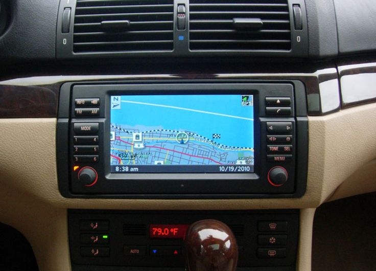 How to listen music in E46