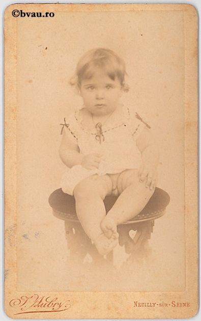 """Réné Betancourt, Neuilly-sur-Seine, 1898. Imagine din colecțiile Bibliotecii """"V.A. Urechia"""" Galați."""
