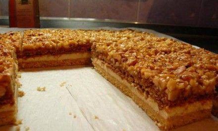 Jednoducho famózny MEDOVO-ORECHOVÝ koláčik | Báječné recepty