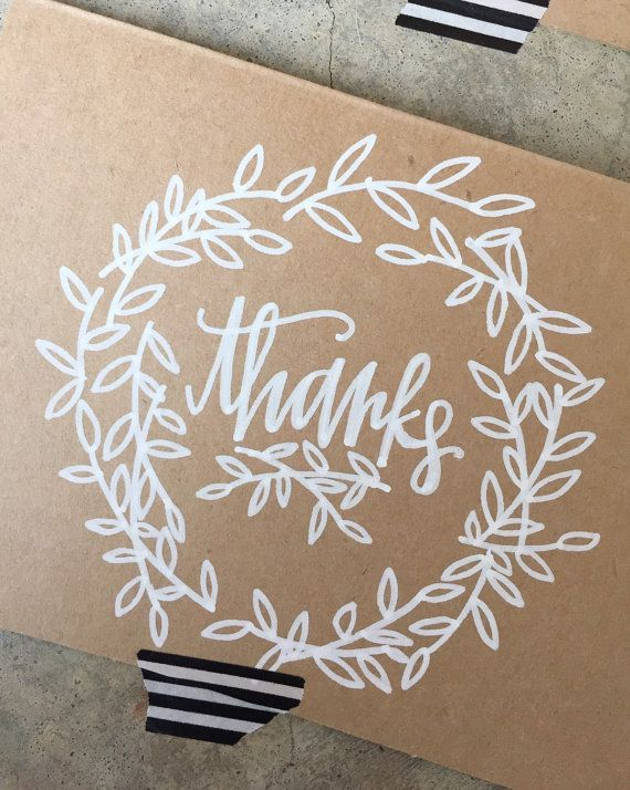 25 Best Ideas About Thank You Typography On Pinterest