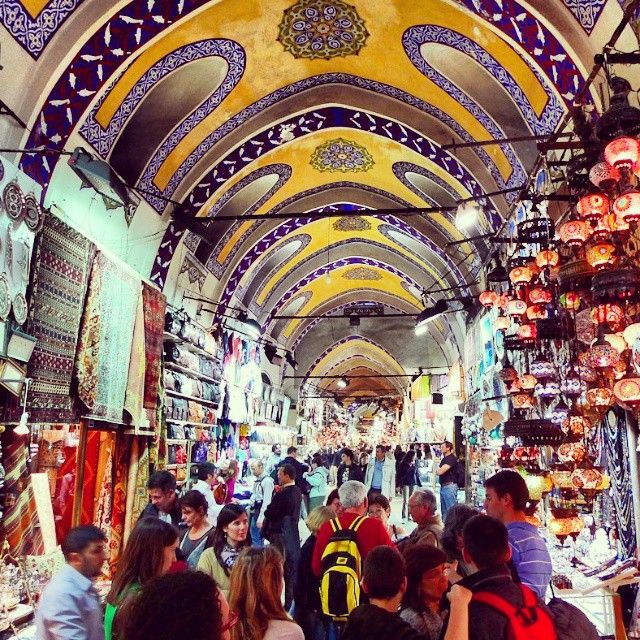Grand Bazaar: The oldest and largest covered bazaar in the world is situated in the heart of the city. One cannot appreciate this market without visiting it. It resembles a giant labyrinth with approximately sixty lanes and more than three thousand shops. #istanbul #turkey #grandbazaar #bazaar #fashion #jewellery #antique #old #stylish #celinehotel #hotel #sultanahmet #beyazit #kapalıçarşı #historical #big