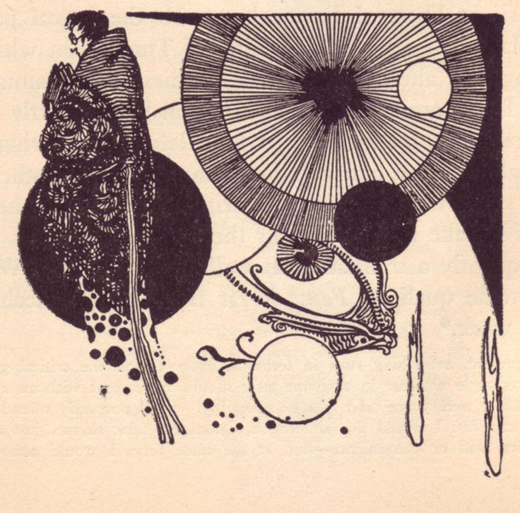 Illustrations by Harry Clarke for a 1925 edition of Goethe's Faust