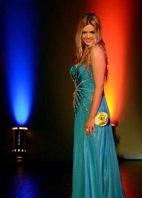 Jade Griffiths contestant Miss North Harbour  2013