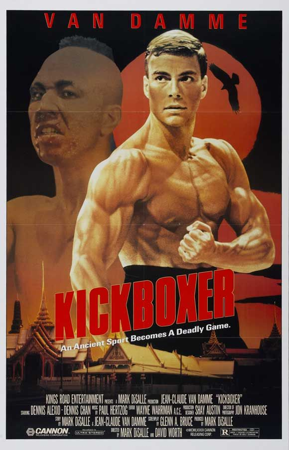 Kickboxer , starring Jean-Claude Van Damme, Dennis Alexio, Dennis Chan, Michel Qissi. Kurt Sloane must learn the ancient kick boxing art of Muay Thai in order to avenge his brother. #Action #Sport #Thriller