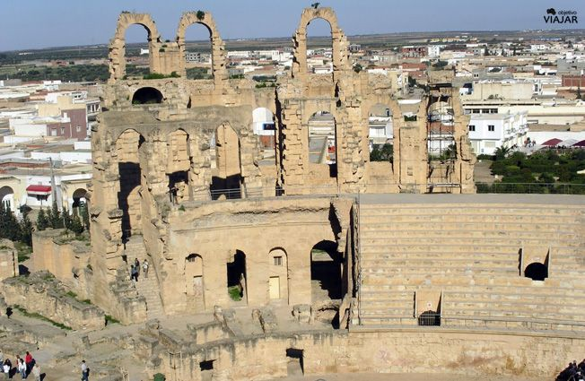 Anfiteatro de El Jem. #Túnez / Amphitheatre of El Jem #Tunisia