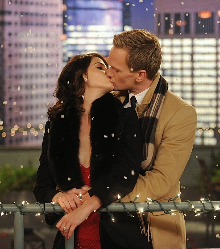 How I Met Your Mother: Ah, a happy ending for Robin and Barney!