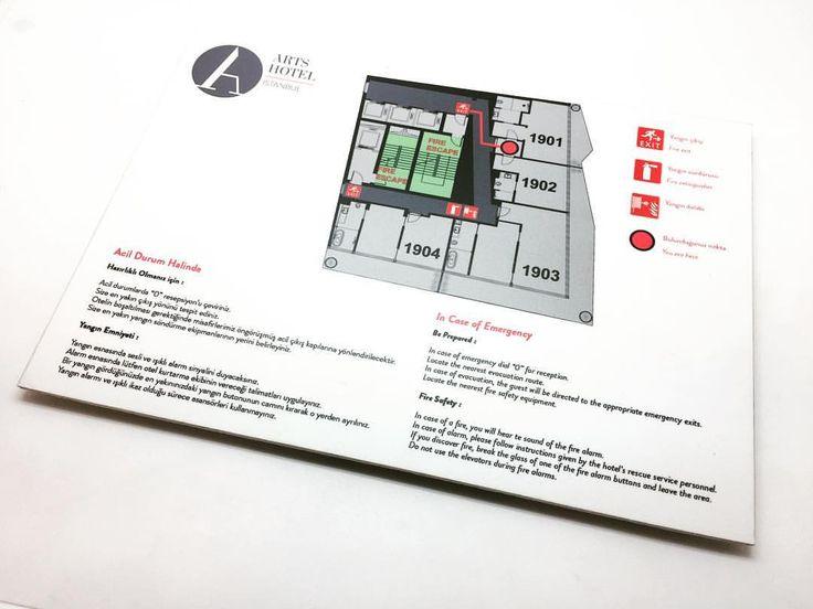 """7 Beğenme, 1 Yorum - Instagram'da otimsan - family business (@otimsan): """"@artshotelistanbul için yangın kaçış panoları  #yönlendirme #sinyalizasyon  #tabela #kutuharf…"""""""
