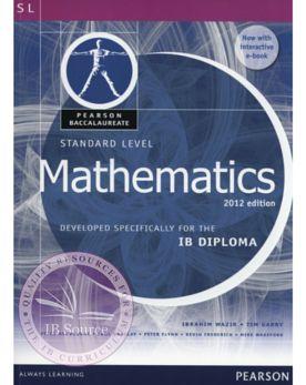 Pearson Baccalaureate Standard Level Mathematics Revised 2012 (print + eText bundle)