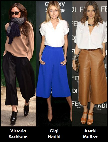 Fashion Explorer: Es tendencia...pantalones culotte