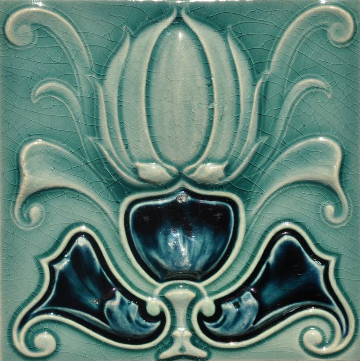 Carter of Poole c1905 - RS0618 - Art Nouveau Tiles
