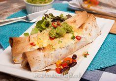 Wereldgerecht: kip enchiladas