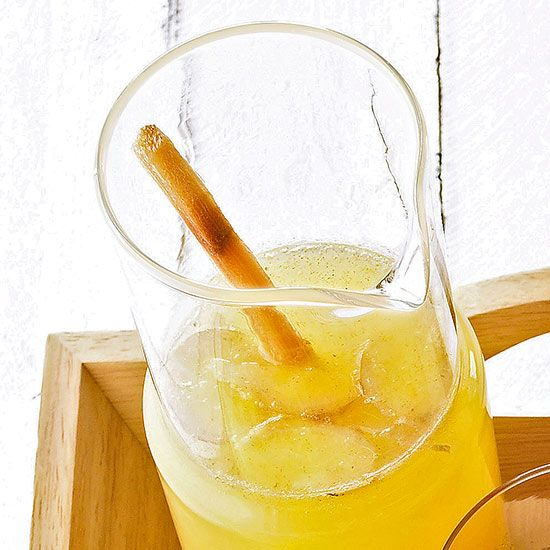Ginger Lemonade | PUNCHeDeLeon | Pinterest