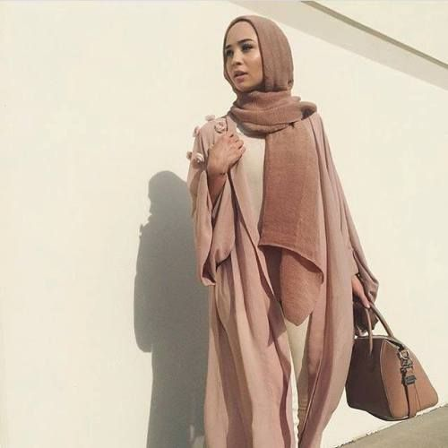 nice How to style your Abaya cardigan for Ramadan