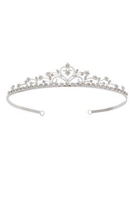 Tiara mit Blumenmuster. Diese Tiara ist ideal für einen Festzug, eine Hochzeit oder …   – Princess side