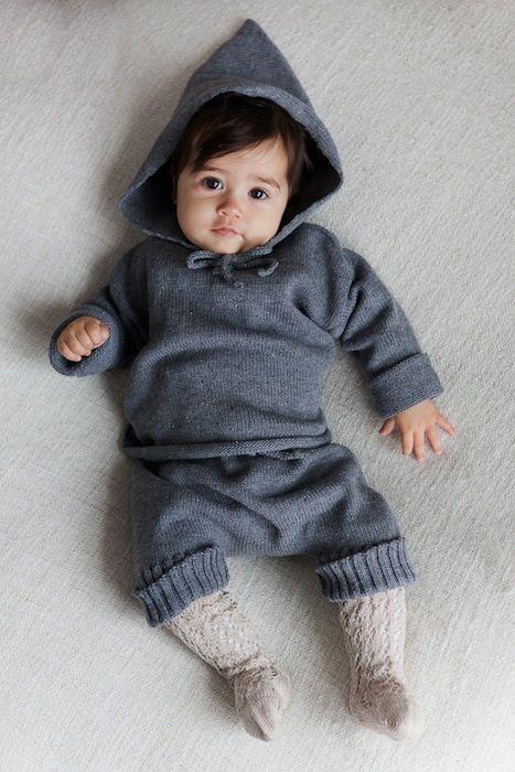 Ropa de punto para bebé artesanal y con fibras ecológicas http://www.minimoda.es