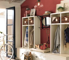 Mud Room with Storage