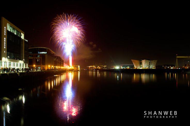 Belfast Fireworks Display