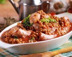 Lentilles à la saucisse de morteau | Cuisine AZ