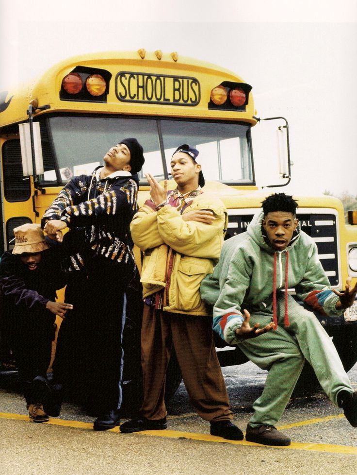 Leaders of the New School   (Busta Rhymes, Charlie Brown, Dinco D, and Cut Monitor Milo)