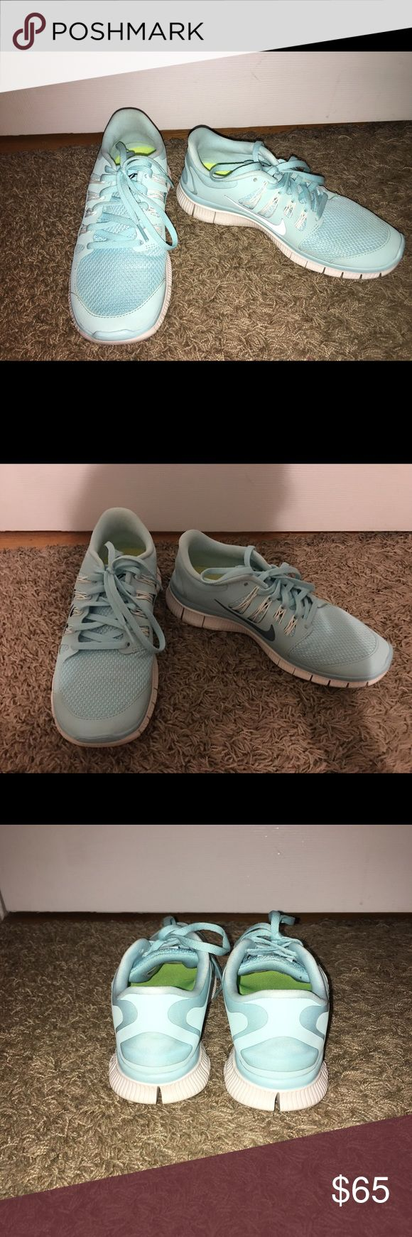 Nike free runs Only worn once very good condition $65 or best offer Nike Shoes Athletic Shoes